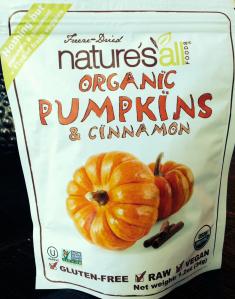 pumpkin snack
