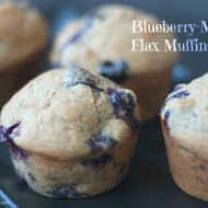 Recipe: Blueberry-Maple Flax Muffins