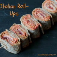 5 Ingredients or Less: Italian Roll-Ups