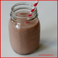 Feeding Pregnancy: Healthy Homemade Chocolate Milk