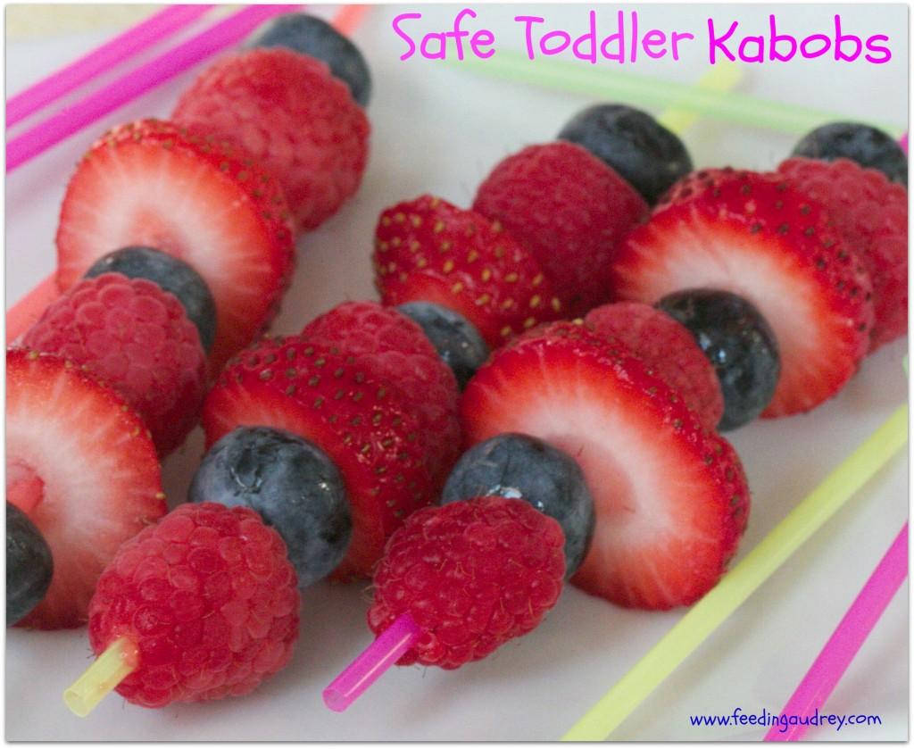 Safe Toddler Kabobs  www.feedingaudrey.com