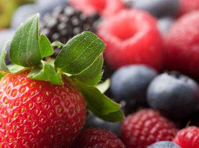 Freezing Berries - www.feedingaudrey.com