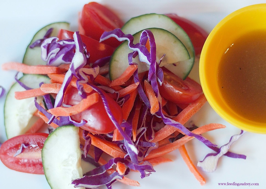 little hand salad  www.feedingaudrey.com