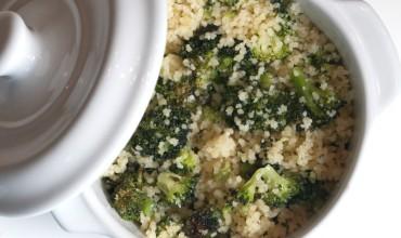 Roasted Broccoli Couscous